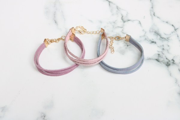 Adjustable Leather Wrap Bracelet