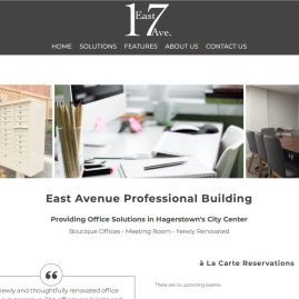 East Avenue Professional Building Website Home Page