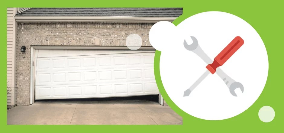 How To Fix Garage Door Off Track And 6 Reasons Rollers