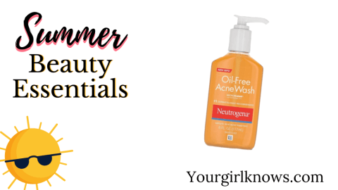 beauty essentials for summer