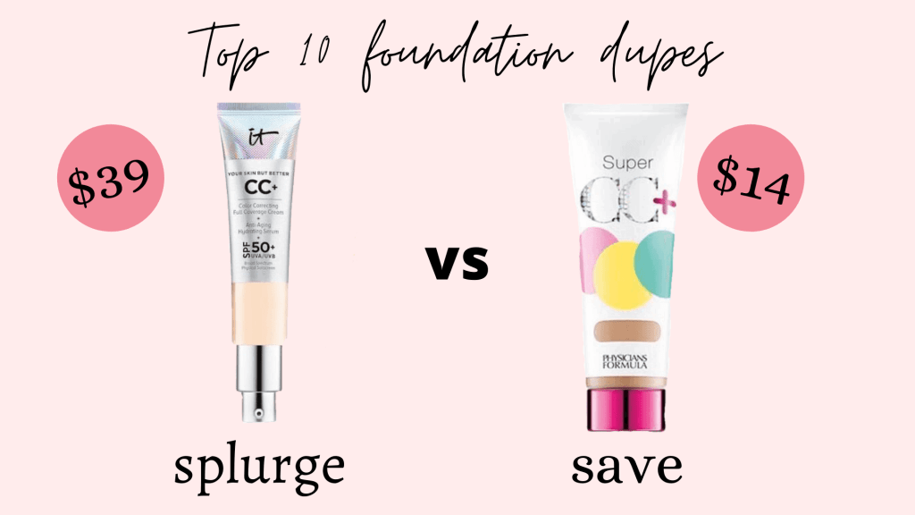 10 Foundation Dupes You just Cannot Resist