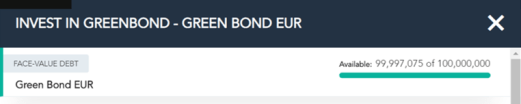 MIRIS green bond - MIRIS X
