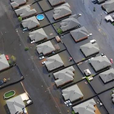 Flood Water contaminates city water supply