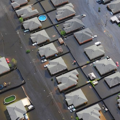 Flood water carries total coliform bacteria and can contaminate well water