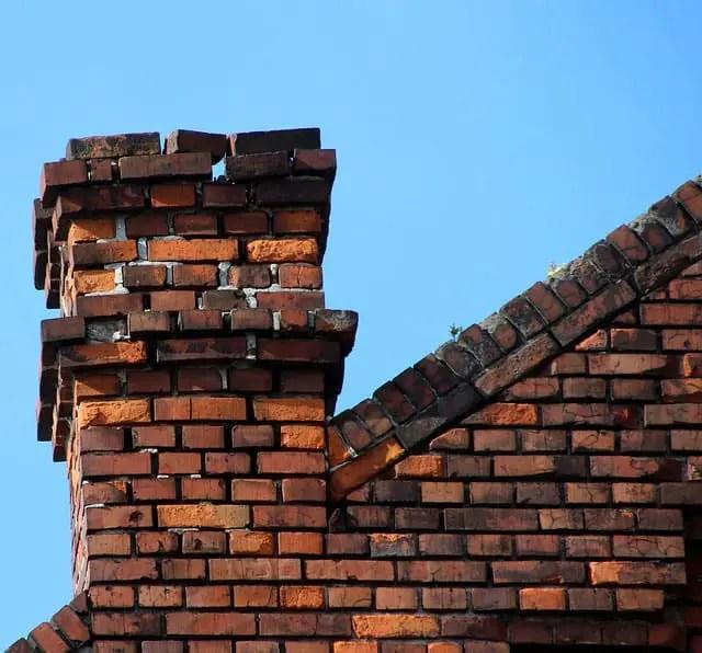 Falling apart chimney