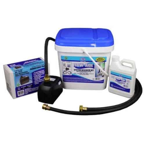 Whitlam Flow Aide Descaler Kit for Tankless Water Heater
