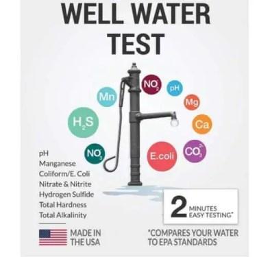 Health Metric DIY well water testing kit