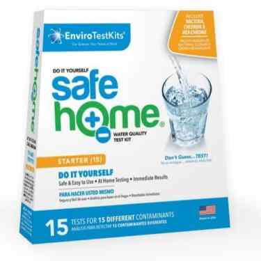 Do It Yourself iron water test kit for well
