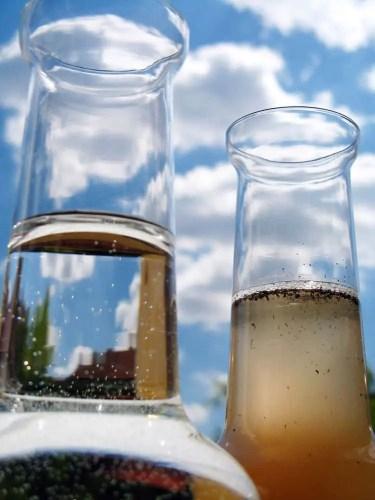 Dirty water vs clean