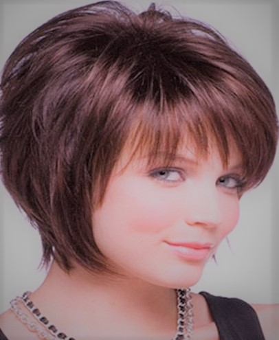 Stunning Hairstyle Ideas For Short Hair For Chubby Face