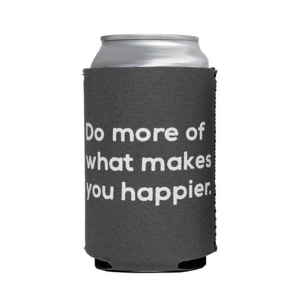 Happier Neoprene Can Cooler - Happier Place koozie