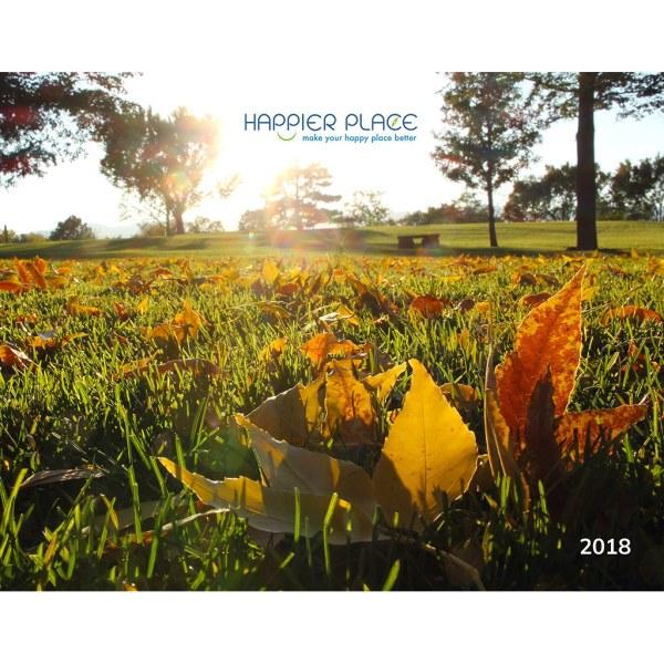 Happier Place - 2018 Nature Photography Calendar - Monthly Landscape