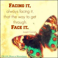 face everything