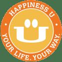 Happiness U logo monthly membership
