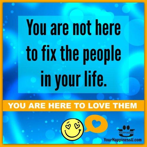 Fix not love