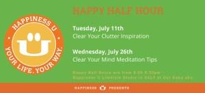 Happiness U Alice Inoue Happy Half Hour talks July 2017