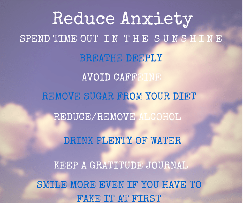 reduce anxiety