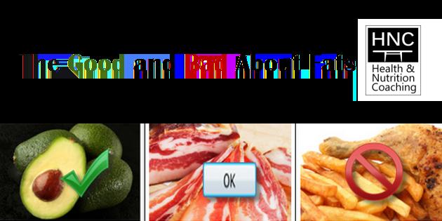 good bad fats