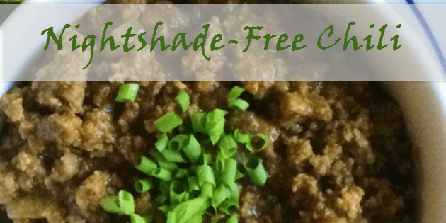 nightshade-free chili
