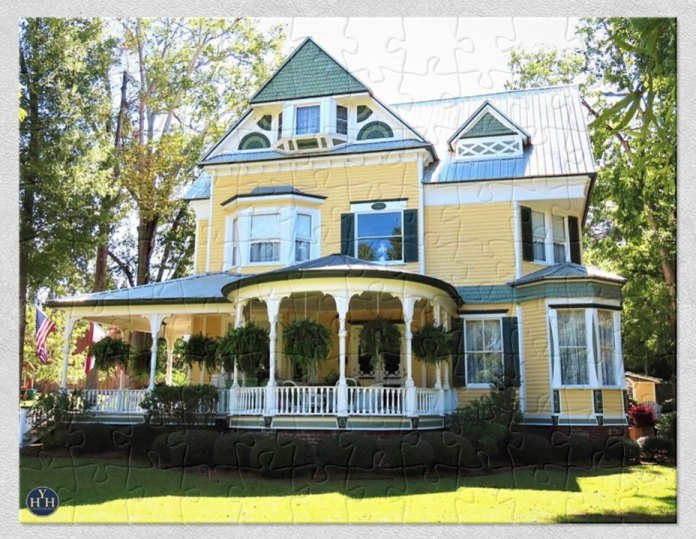 Alabama Beauty Queen Puzzle Historic House