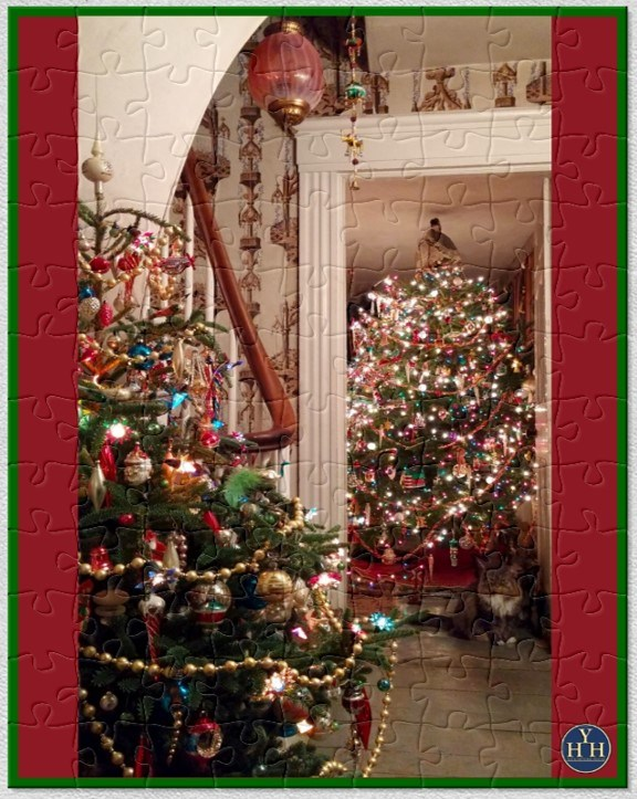 Whitten House Christmas Trees (and Maggie) Puzzle