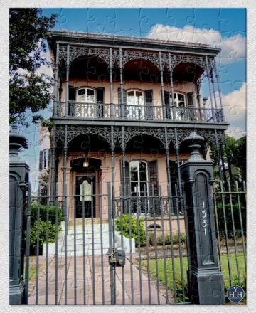 Garden District Italianate Puzzle Historic House