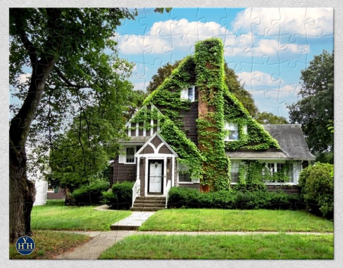 Ivy-Clad Tudor Puzzle Historic House
