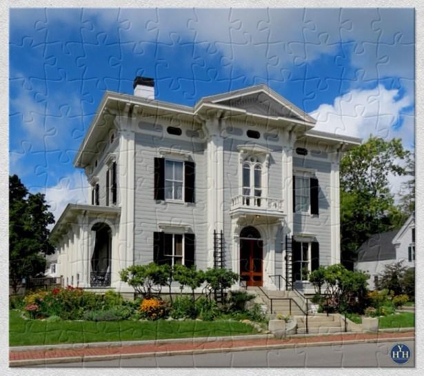 Bath, Maine Italianate Villa Historic House Puzzle
