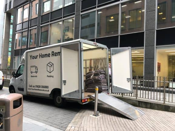 Virginia Water Office Moves