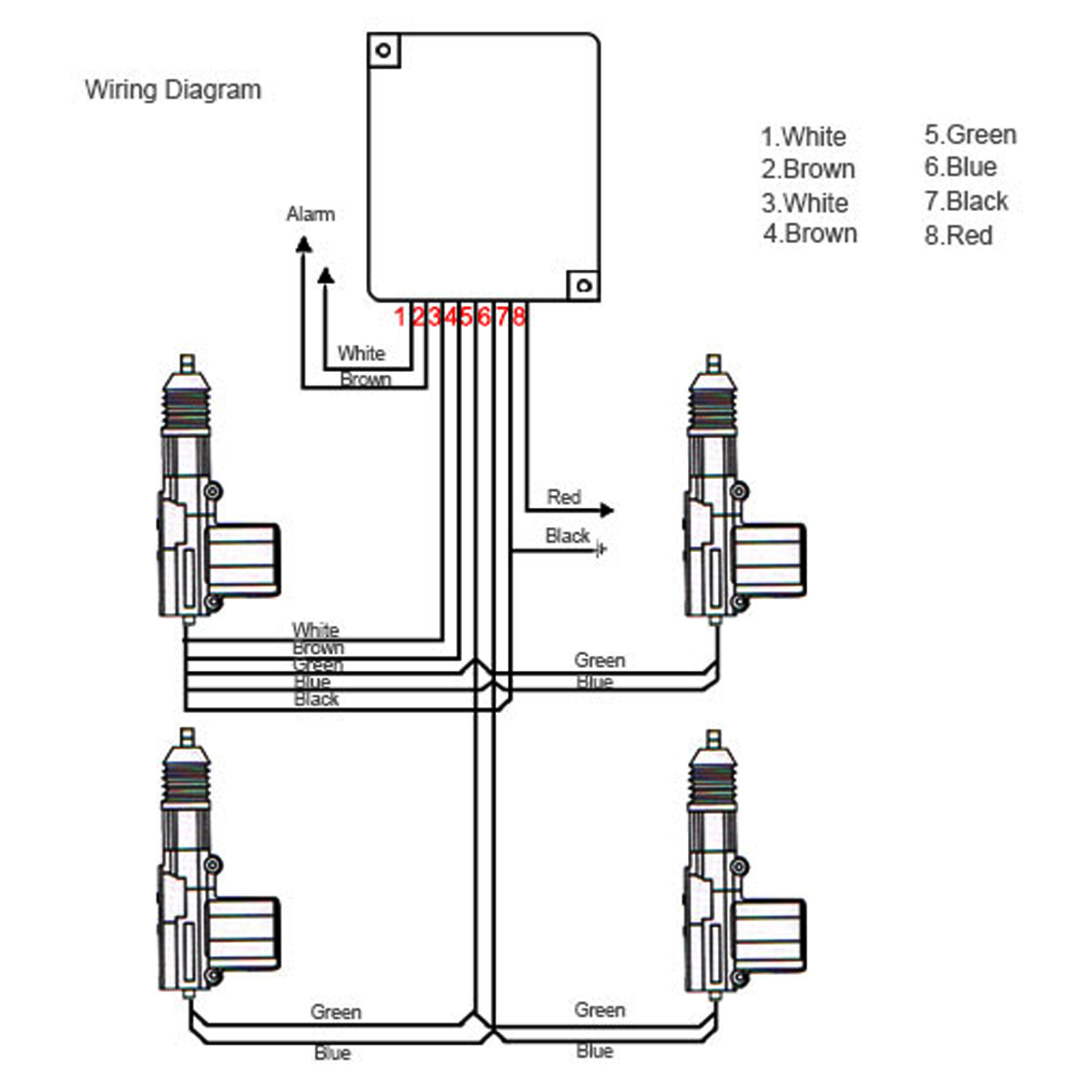 Wiring Diagram For Security Door Magnet