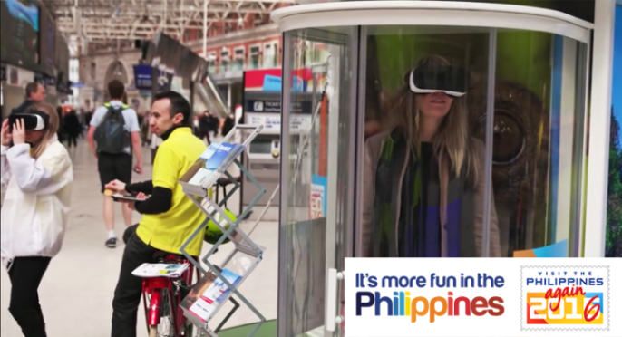 Philippine Department of Tourism Virtual Reality initiative