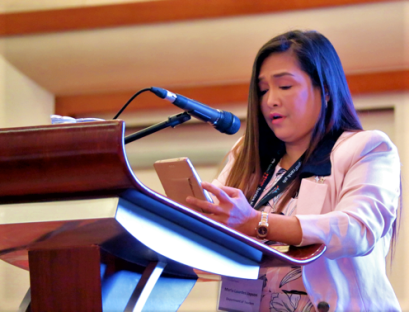 Maria Lourdes F. Japson, Department of Tourism's Assistant Secretary at the Philippines 1st Hospitality Summit