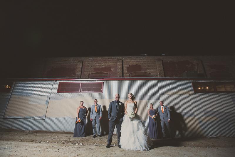 Wedding at The Mitten Building, Redlands