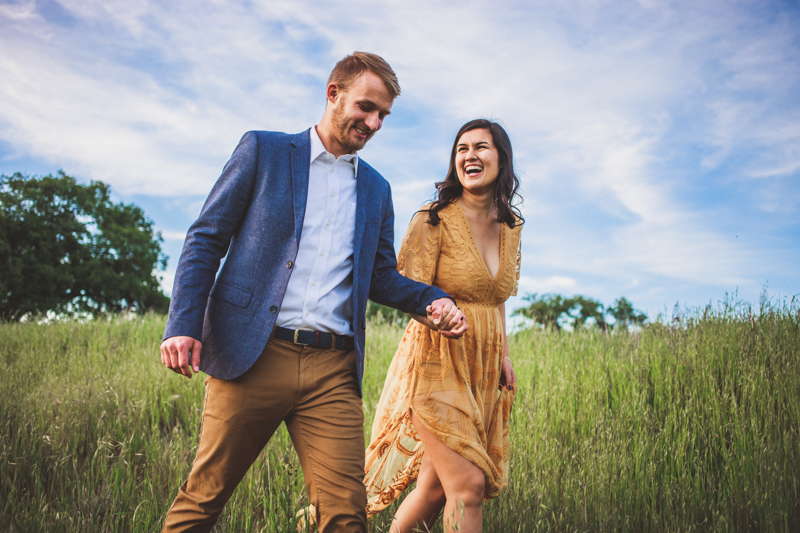 Temecula Engagement Photos – Bikes and a Field