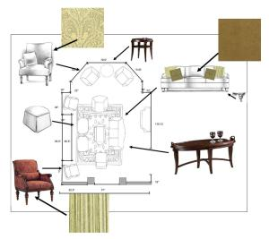Living Room Furniture Plans Zion Star