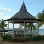 Beachfront Wedding Gazebo