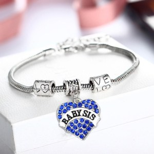 bracelet-ladies-baby-sis-blue-crystals-charm-heart
