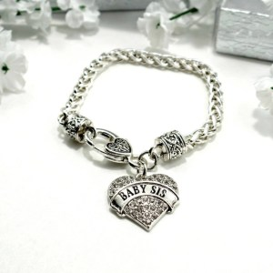 bracelet-ladies-baby-sis-clear-crystals-charm-heart-large-pic