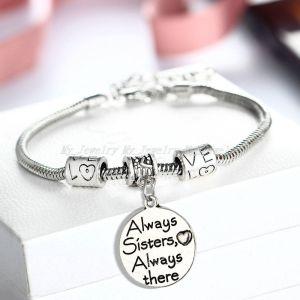 bracelet-ladies-sister-always-sisters-always-there-charm