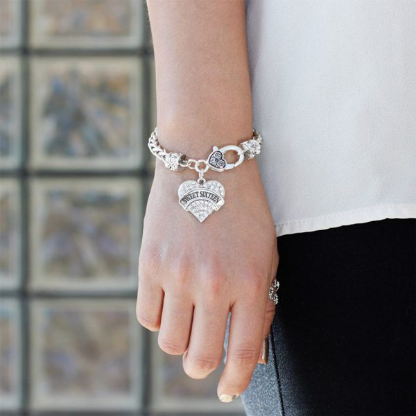 bracelet-ladies-sweet-sixteen-clear-crystals-heart-pic