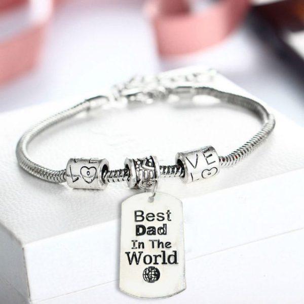 bracelet-men-silver-best-dad-in-the-world