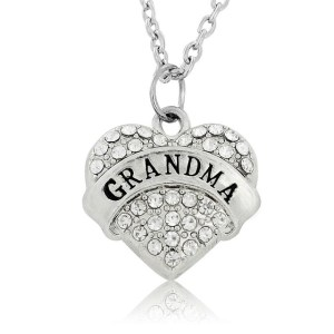 necklace-ladies-grandma-clear-crystals-heart