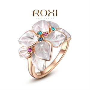 ring-ladies-18K-rose-gold-plated-camellia-flower