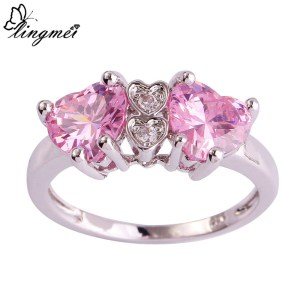 ring-ladies-sterling-silver-plated-heart-cut-pink-white-topaz