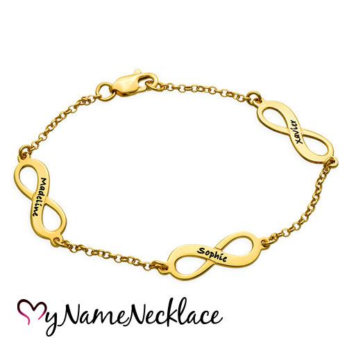 bracelet-family-mother-18kt-gold-plated-infinity