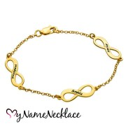 bracelet-family-mother-18kt-gold-plated-infinity
