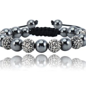 bracelet-shamballa-black-silver