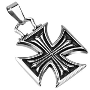 pendant-mens-stainless-steel-iron-cross-celtic-cross