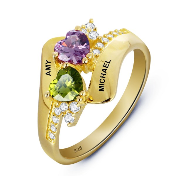 ring-ladies-24kt-gold-plated-personalised-birthstone-couples-1002