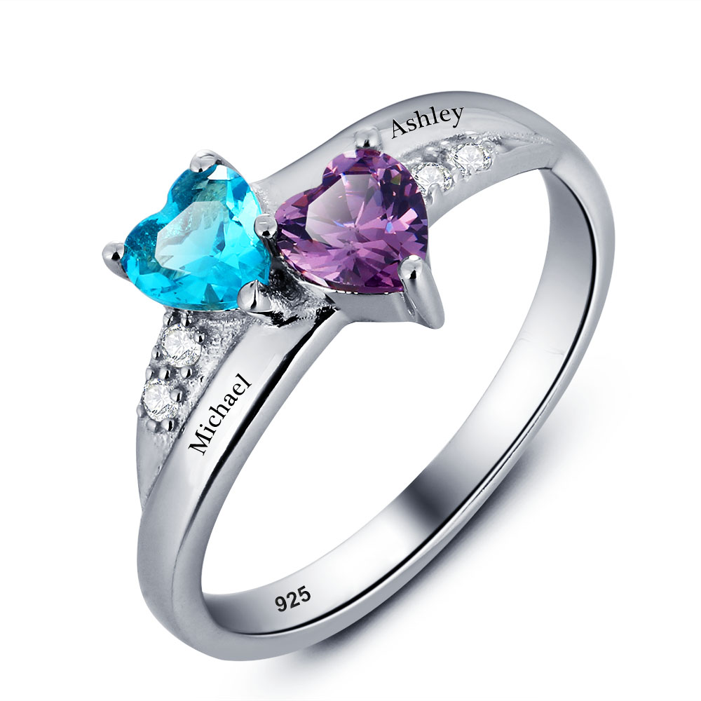 stack jewelry rings birthstone stephanie gottlieb fine alexandrite wedding products